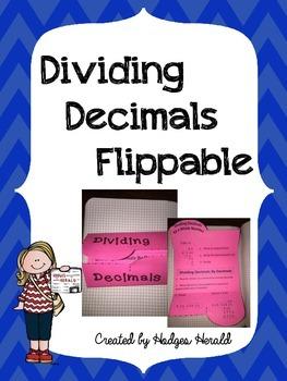 Dividing Decimals Flippable