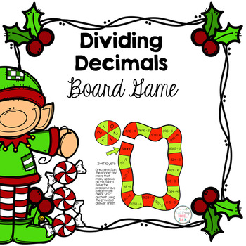 Dividing Decimals Free Game Board