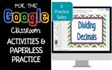 Dividing Decimals Interactive Activity Google Classroom