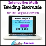 Dividing Decimals: Interactive Math for the Google Classroom