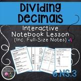Dividing Decimals Lesson 6.NS.3