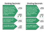 Dividing Decimals Journal Interactive Notes