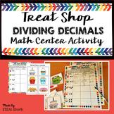 Dividing Decimals Math Center Activity