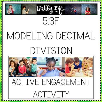 Dividing Decimals Model Task Cards