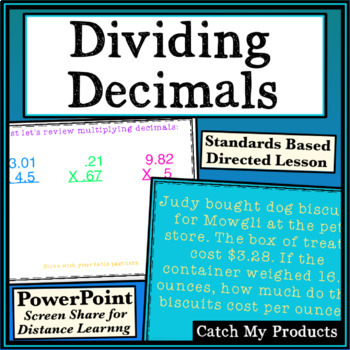 Dividing Decimals Power Point