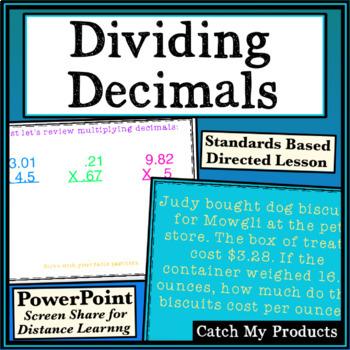 Dividing Decimals Power Point