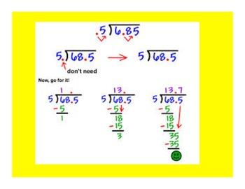 Dividing Decimals PowerPoint