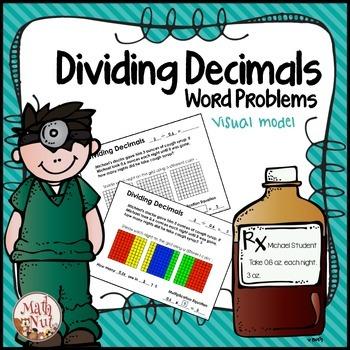 Dividing Decimals Word Problems