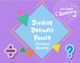 Dividing Decimals Game