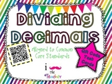 Dividing Decimals **QR CODE Task Cards**