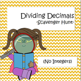 Dividing Decimals - Scavenger Hunt