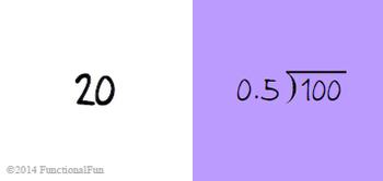 Dividing Decimals Spiral Card Game