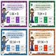 Dividing Decimals Task Cards {Multiple Choice, Standard Form and Word Form}