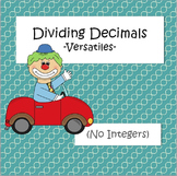 Dividing Decimals - Versatiles