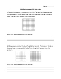 Dividing Decimals Visually With 100s Grids- Word Problems