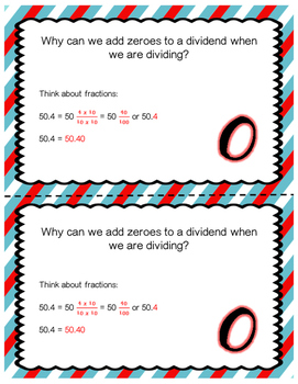Dividing Decimals: Writing Zero in the Dividend