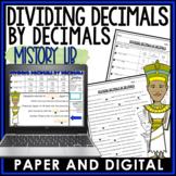 Dividing Decimals by Decimals Mistory Lib 6.NS.B.3