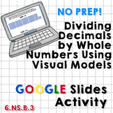 Dividing Decimals by Whole Numbers using Visual Models - G