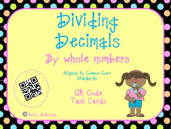 Dividing Decimals by a Whole Number