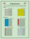 Dividing Decimals on a Grid