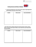 Dividing Decimals with Base 10 Models