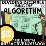 Dividing Decimals by Whole Numbers with the Algorithm Inte