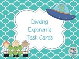 Dividing Exponents Task Cards