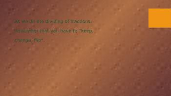 Dividing Fraction