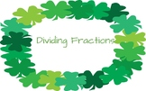 Dividing Fraction Task Cards