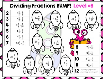 Fan image with regard to dividing fractions games printable