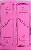 Fractions - Dividing Foldable