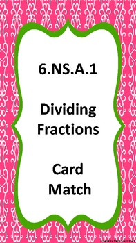 Dividing Fractions 6.NS.A.1