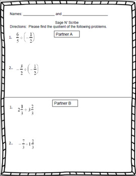 Dividing Fractions - 7th Grade Rational Numbers