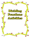 Dividing Fractions Activities