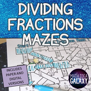 Dividing Fractions Activity