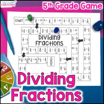 Dividing Fractions Board Game