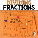 Dividing Fractions Board Game
