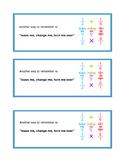 Dividing Fractions Bookmarks