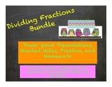 Dividing Fractions Bundle