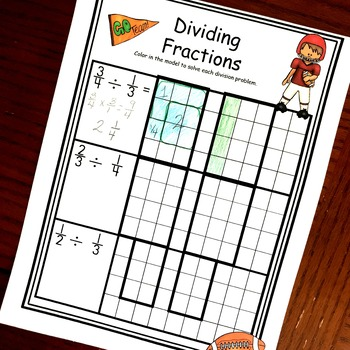 Dividing Fractions By Fractions Activities