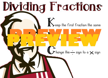 Dividing Fractions Chart (KFC)