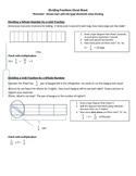 Dividing Fractions Cheat Sheet