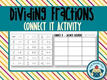 Dividing Fractions - Connect It Activity