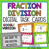Dividing Fractions Digital Task Cards Google Version