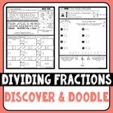 Dividing Fractions Discover & Doodle
