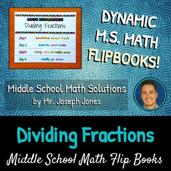 Dividing Fractions Flip Book