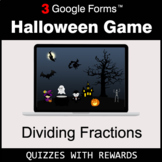 Dividing Fractions   Halloween Decoration Game   Google Fo