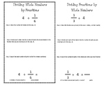 Dividing Fractions Journal Entry