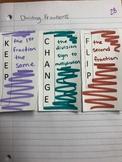 Dividing Fractions- Keep Change Flip- Interactive Notebook