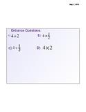 Dividing Fractions Lesson Notes